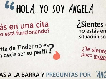 'Ángela', el código para alertar de que estás en una situación insegura