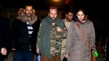 Frame 6.477466 de: Liberado el cooperante español de Cruz Roja secuestrado en Afganistán hace un mes