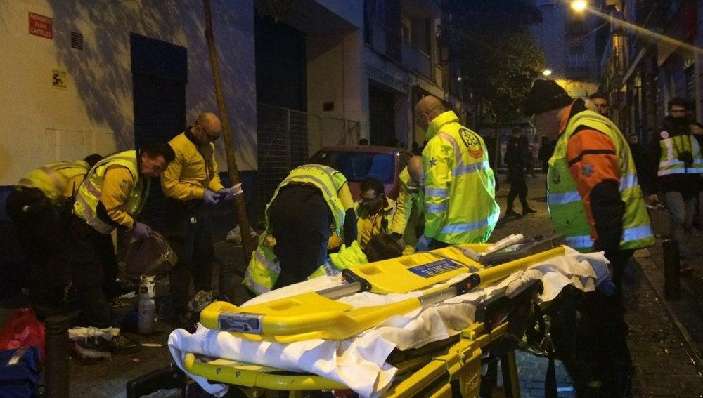 Muere un joven de 25 años tras recibir dos disparos en un bar de Madrid