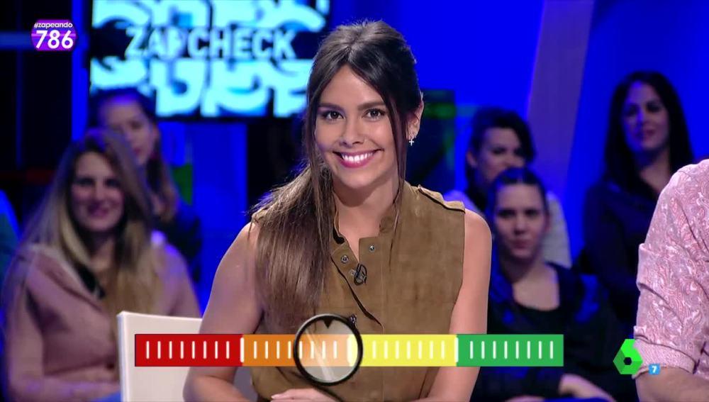 El Zapcheck de Cristina Pedroche