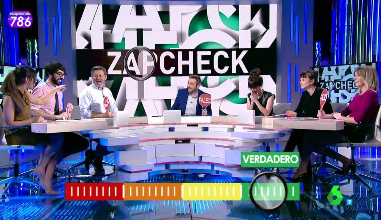Zapcheck, en Zapeando
