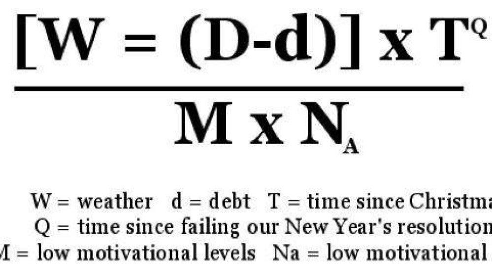 Fórmula matemática del Blue Monday
