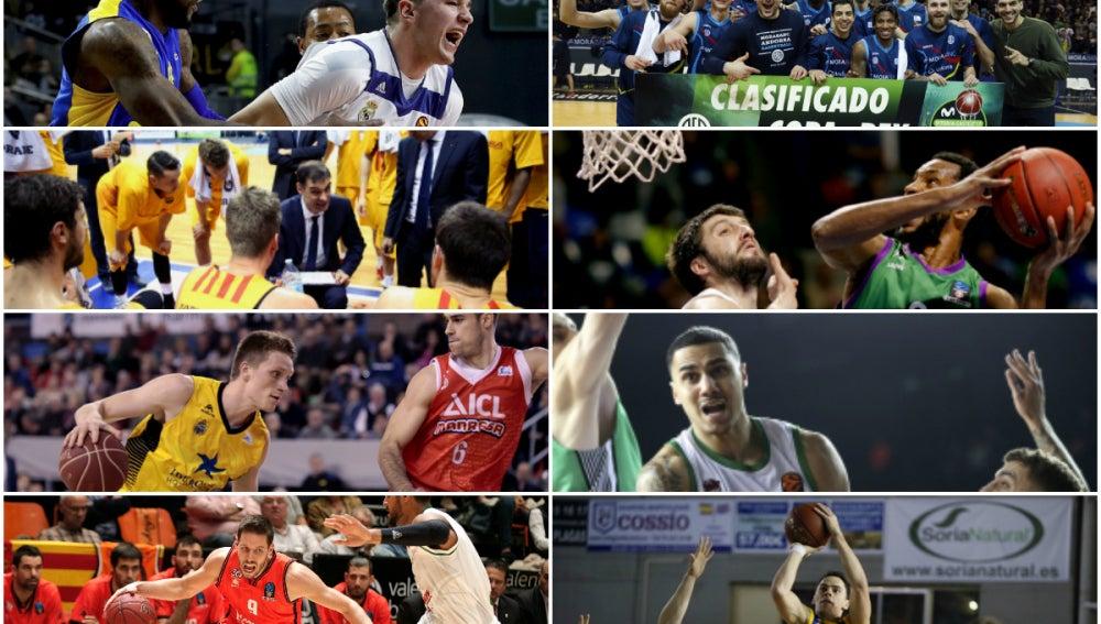 Los cruces de la Copa del Rey de baloncesto