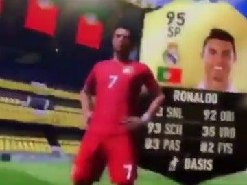 Cristiano Ronaldo, en el FIFA 17