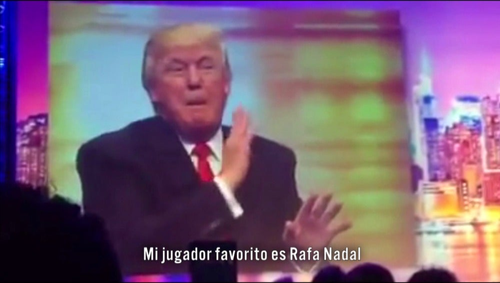 Donald Trump asegura que Nadal es su jugador favorito