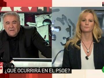 """Frame 2.062221 de: Zaida Cantera, sobre la situación interna del PSOE: """"Dejemos que la voz de los militantes no sea cercenada esta vez"""""""