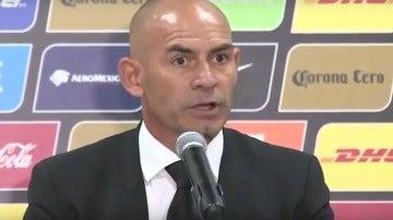 Paco Jémez, en rueda de prensa