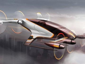 Ilustración del taxi aéreo de Airbus