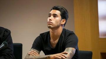 Sergio Araujo, durante su pasada declaración ante el juez