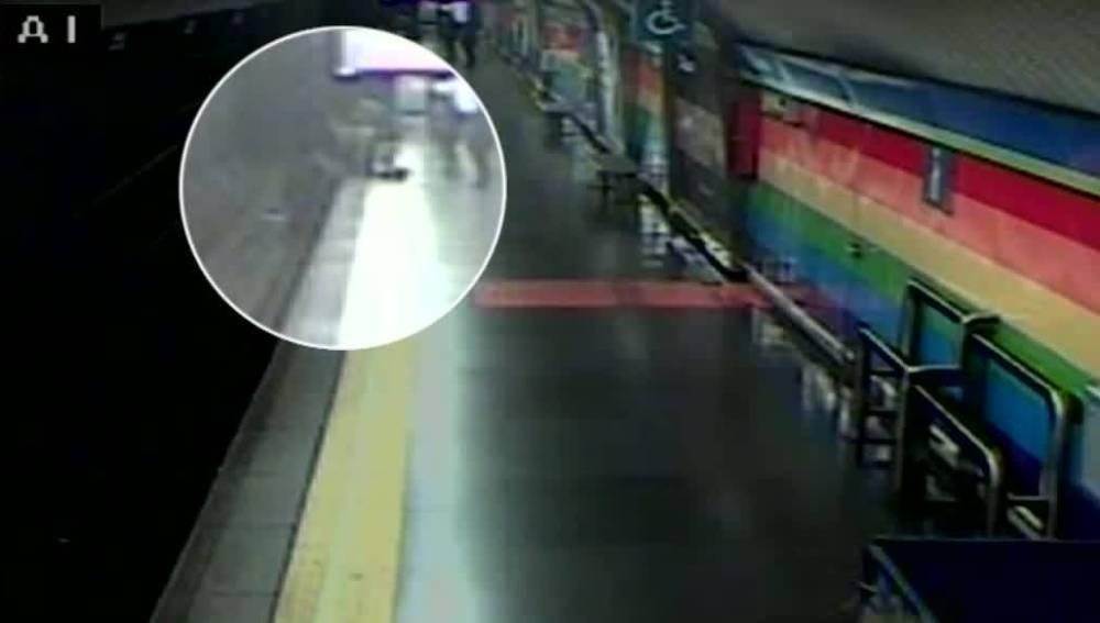 Rescate en el Metro