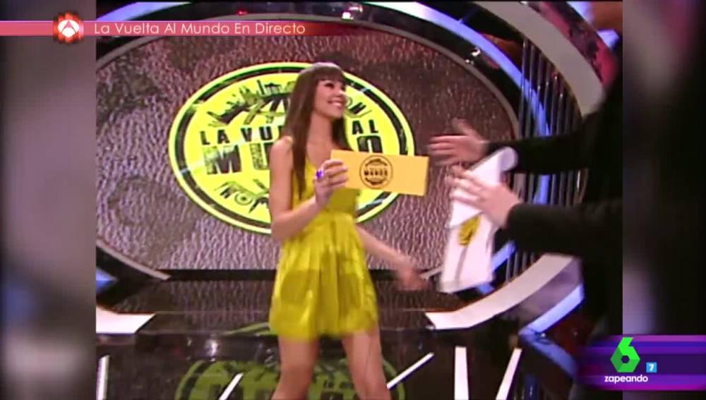 La primera vez en televisión de Cristina Pedroche