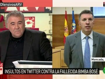 """Frame 31.363152 de: Joaquim Bosch dice no ver """"la misma sensibilidad ni actuaciones"""" de la policía y la fiscalía en todos los casos de tuits ofensivos"""