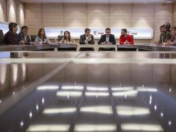Reunión de la gestora del PSOE