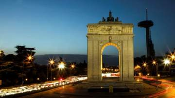 Arco de la Victoria, en Madrid