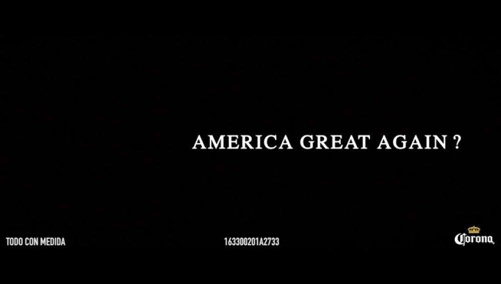 """Frame 4.894031 de: """"América somos todos"""", la respuesta viral de la cerveza Corona al muro que planea Donald Trump"""