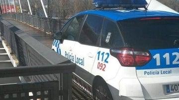 Coche de la policía local de León