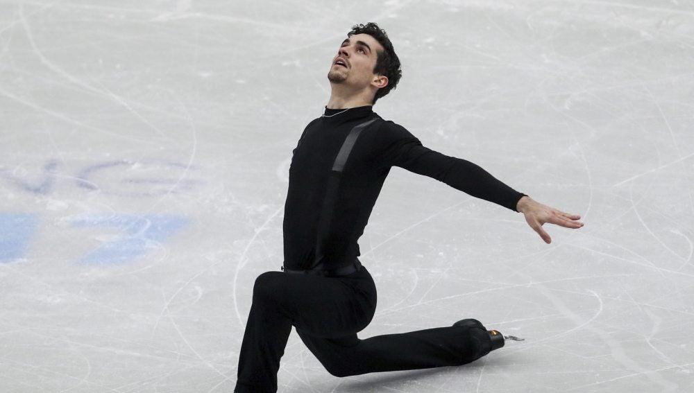 Javier Fernández, campeón de Europa de patinaje artístico