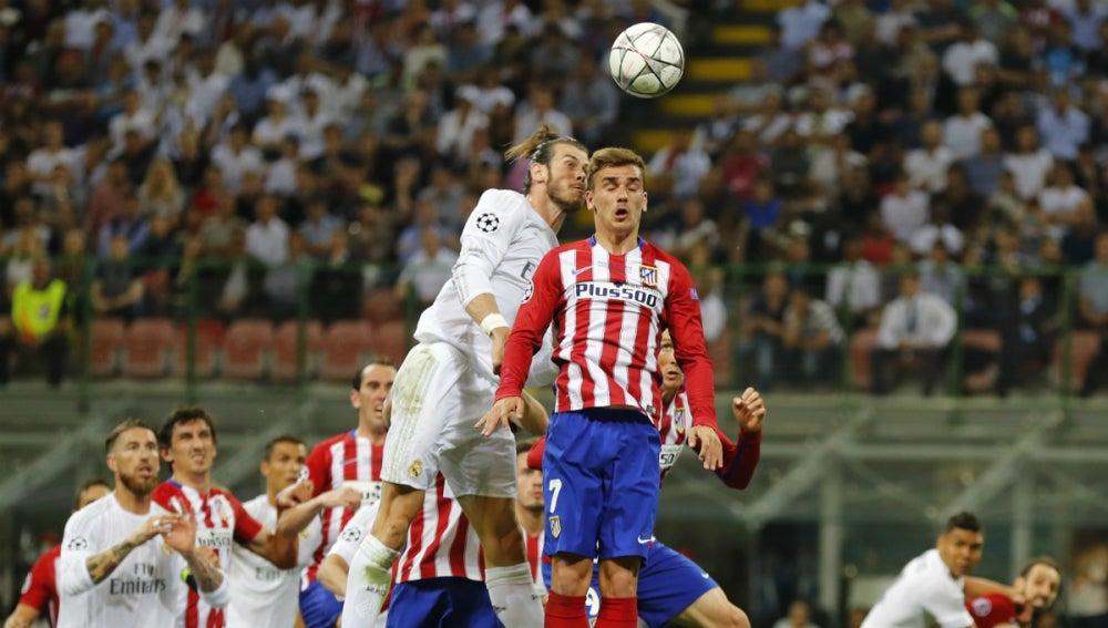 Griezmann pelea con Bale