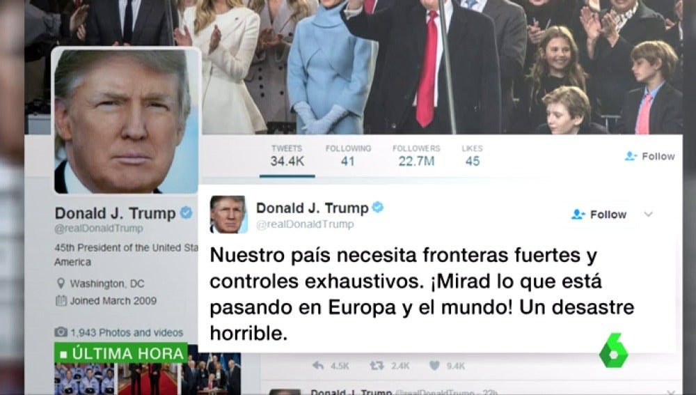 LA SEXTA TV | Trump responde a los críticos con su política ...