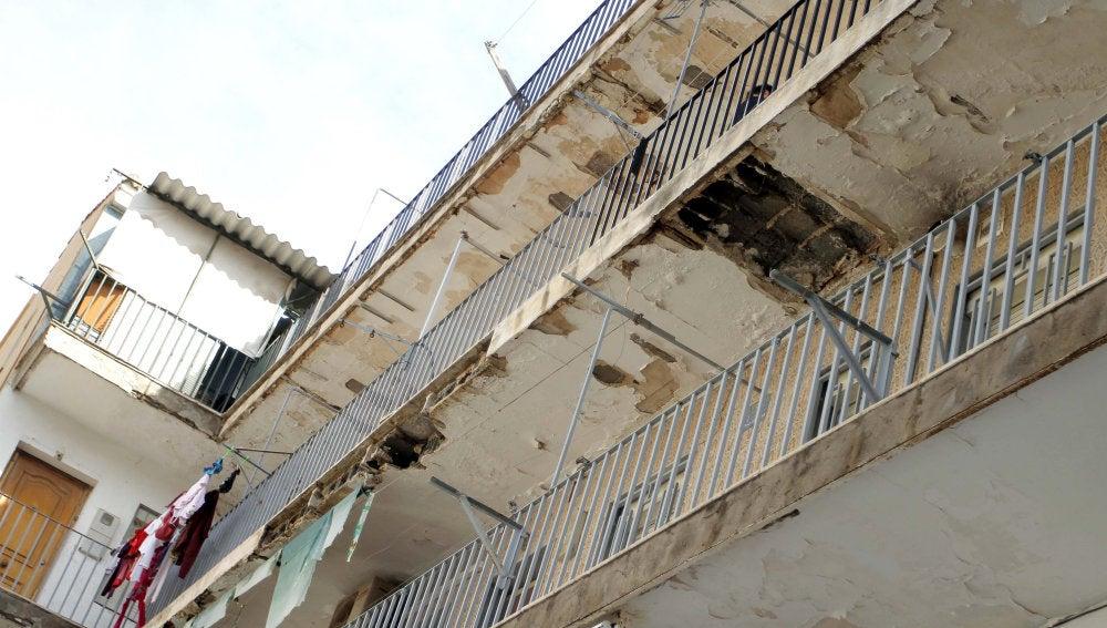 Edificio desalojado en Almería