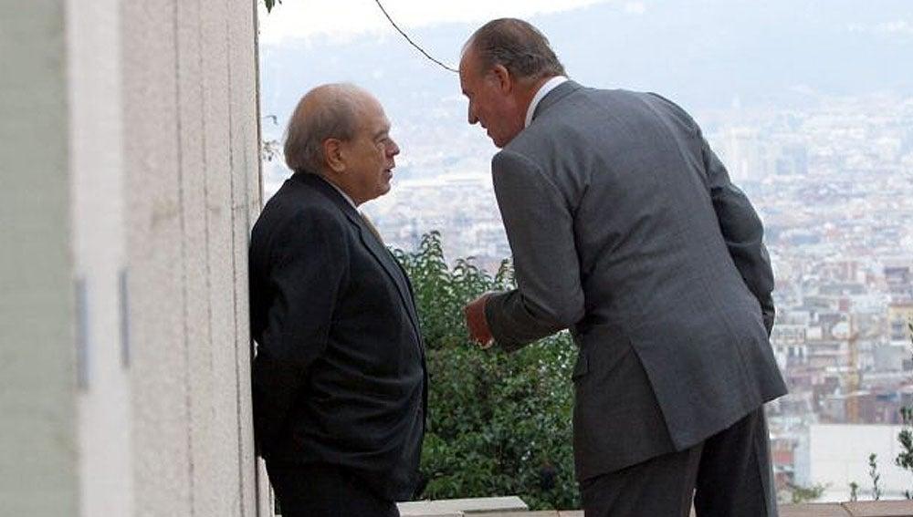 Imagen de archivo de Juan Carlos y Jordi Pujol