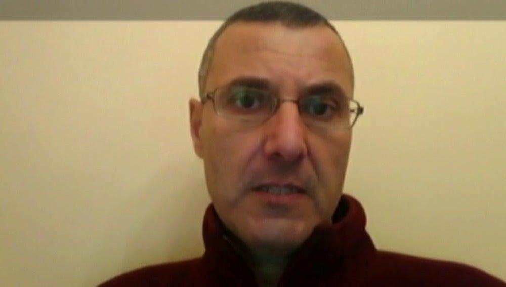 """Frame 26.884349 de: El Gobierno impide que un activista a favor de los derechos del palestino dé una conferencia en España: """"Están censurado la opinión de la ciudadanía"""""""