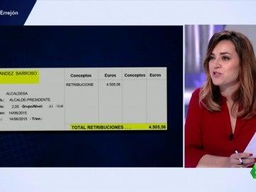 Frame 63.946666 de: La alcaldesa de Getafe fue investida tras firmar que su sueldo no pasaría de 2.800 euros y ahora llega a los 4.505