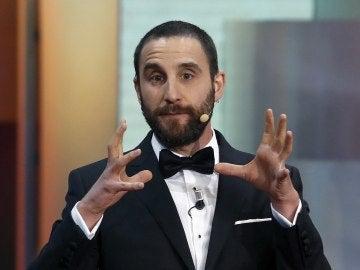El humorista Dani Rovira, presentador de los Premios Goya 2017