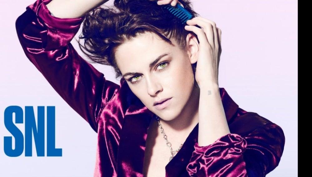 Foto promocional de Kristen Stewart en 'SNL'