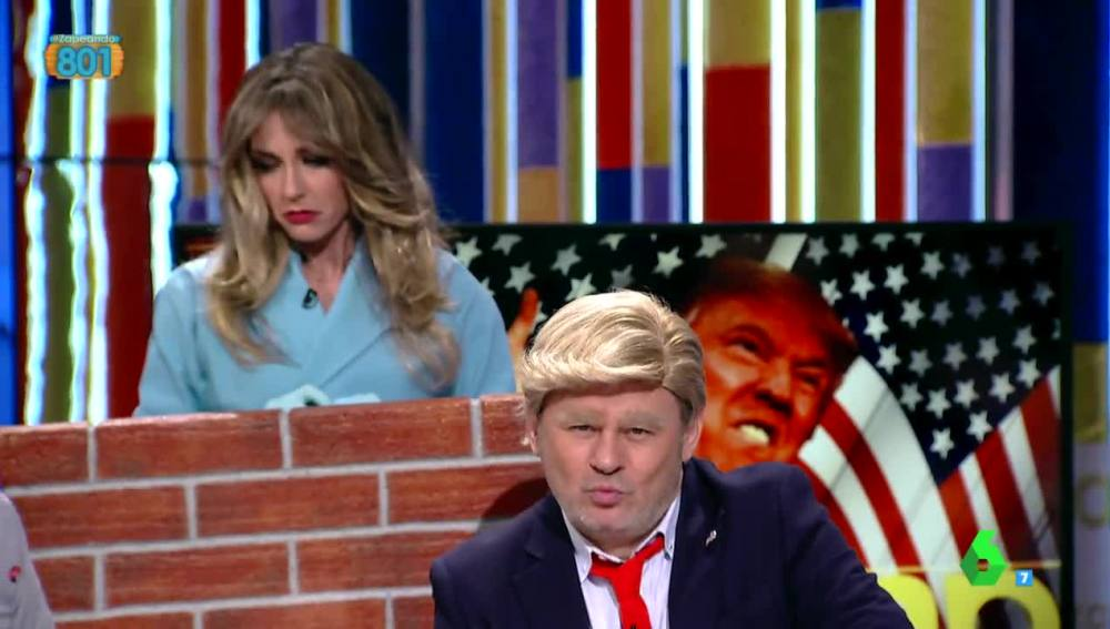 Paco Trump presenta a su mujer Melania
