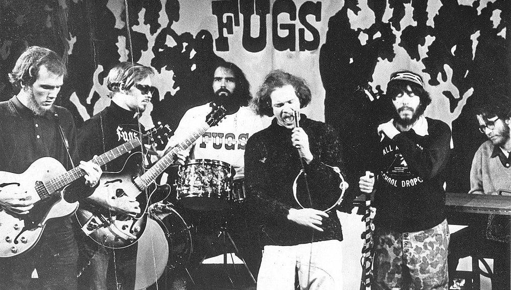 Fugs actuando en 1967.