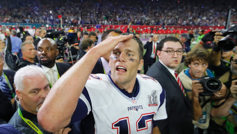 Tom Brady, tras ganar la Super Bowl