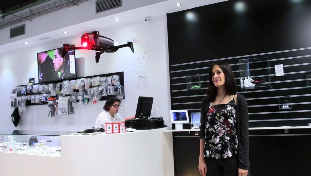 Drones que han selfies