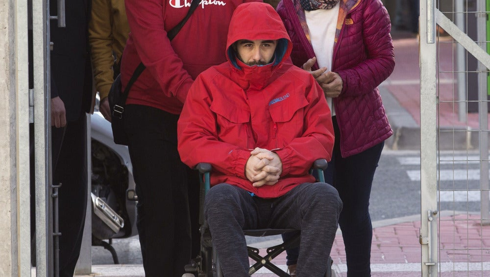 Andrés Martínez,el joven que permaneció en coma por el puñetazo de un portero de un bar