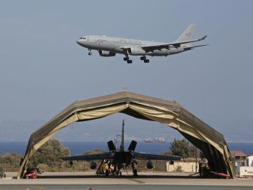 Avión de la Real Fuerza Aérea británica