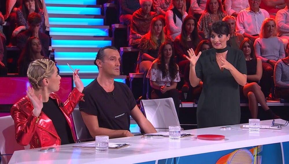 Soraya, Silvia Abril y Rafa Méndez