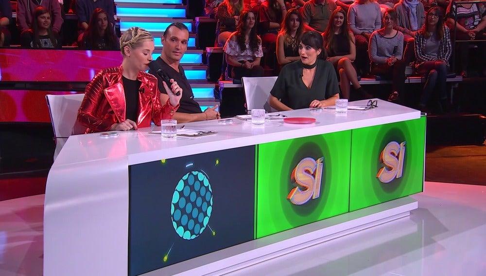 Soraya, Rafa Méndez y Silvia Abril