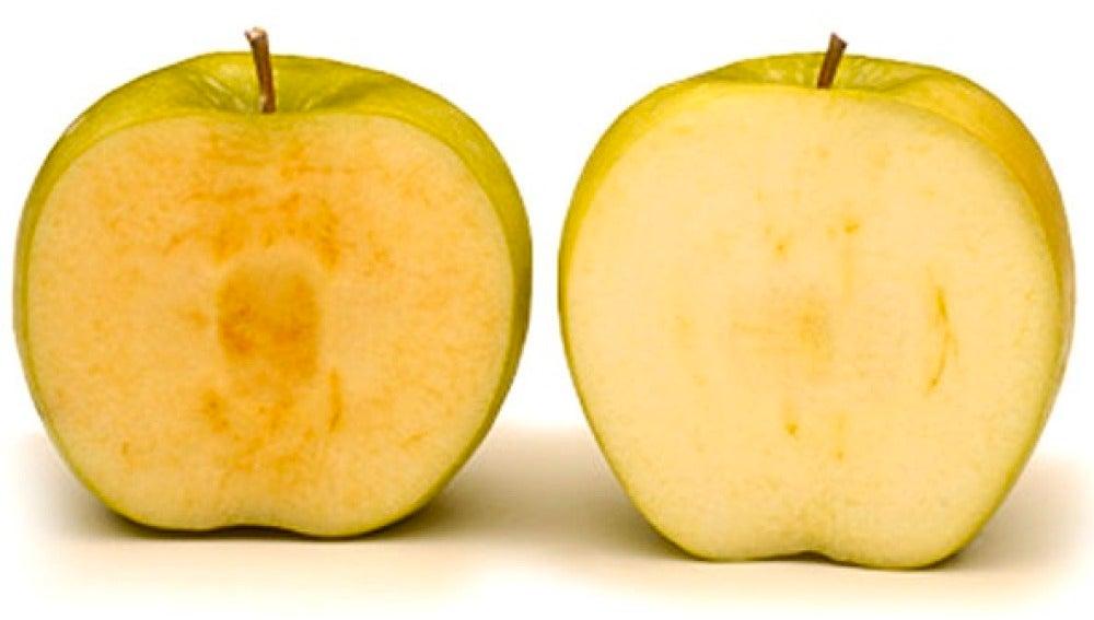 Manzana que no se oxida