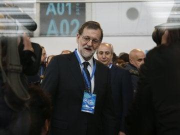 Rajoy, en el Congreso del PP