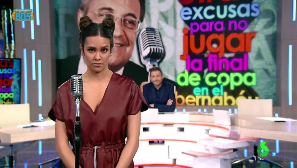 Cristina Pedroche, en una ronda rápida