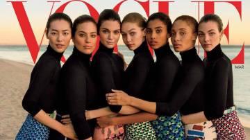 Portada de Vogue USA con motivo de su 125 aniversario