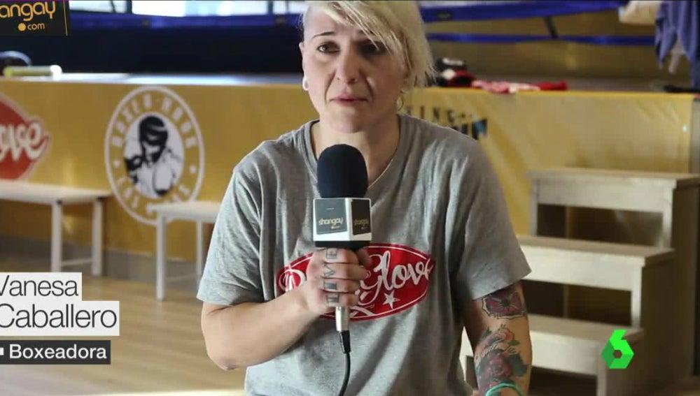Vanesa Caballero, boxeadora