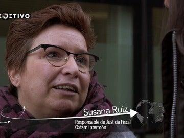 Susana Ruiz, responsable de Justicia Fiscal Oxfam Intermón