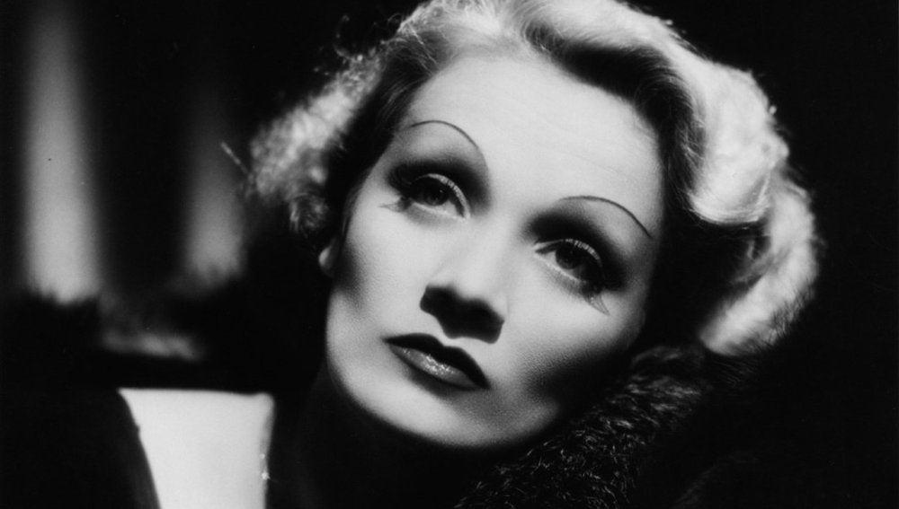 La actriz Marlene Dietrich.