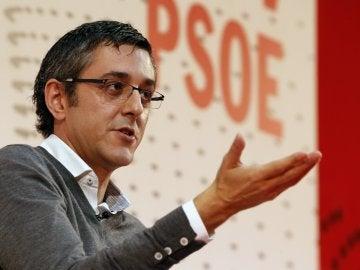 Eduardo Madina en la convención valenciana