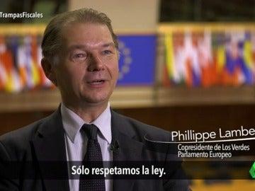 """Frame 15.436464 de: Phillippe Lamberts: """"Las empresas igual respetan la ley pero los Estados que crean esas leyes no las respetan"""""""