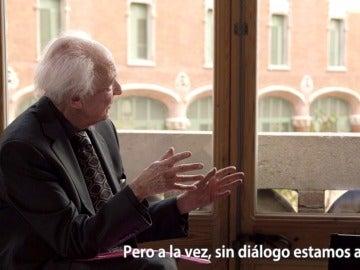 Zygmunt Bauman y Jordi Évole