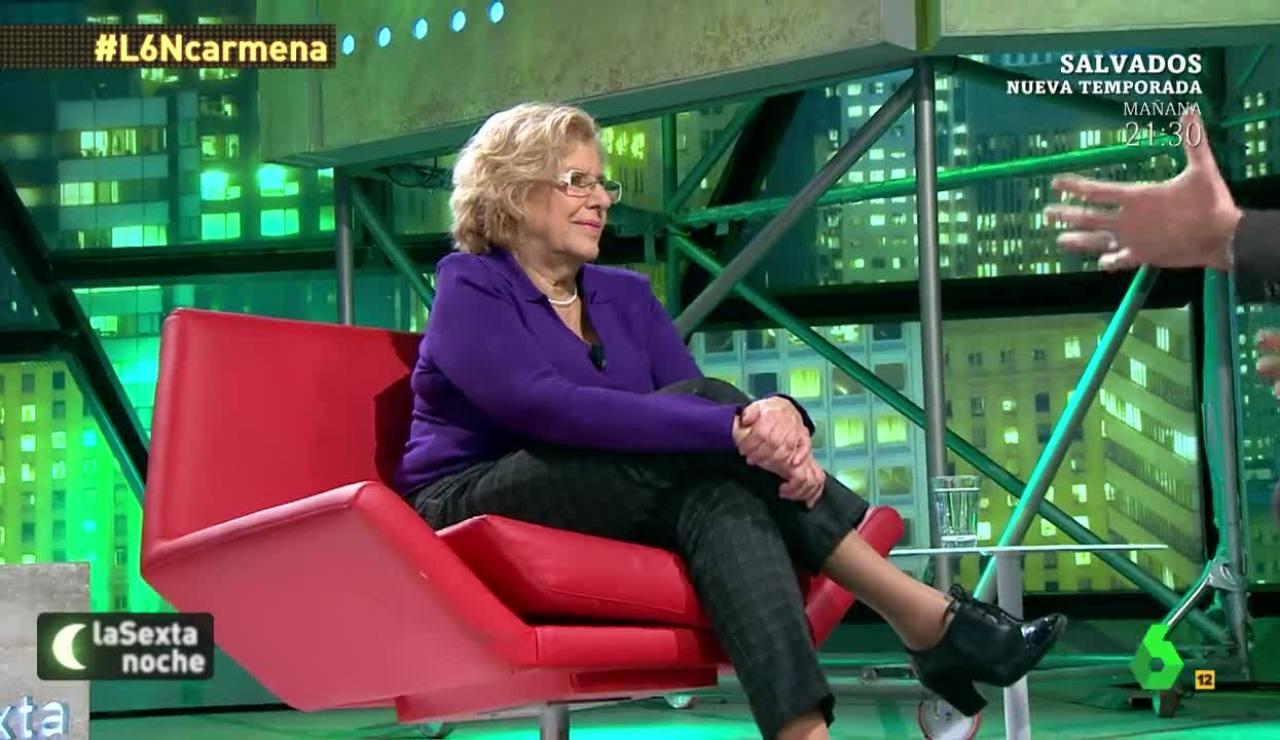 Manuela Carmena, en laSexta Noche