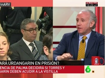 """Frame 27.403051 de: Eduardo Inda: """"Es seguro que se le retirará el pasaporte a Iñaki Urdangarin"""""""