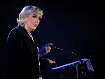 Marine Le Pen, la líder ultraderechista del Frente Nacional